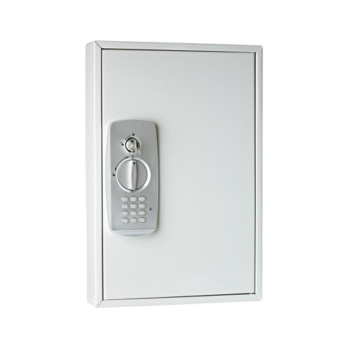 Key Cabinet With Electronic Lock And Combination Code With 32 Key Hooks   Key  Cabinets