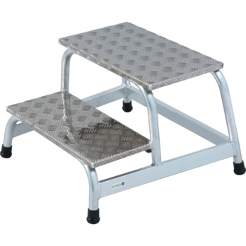 HK Machine Step Aluminium 2 Level 04 M Platform Height
