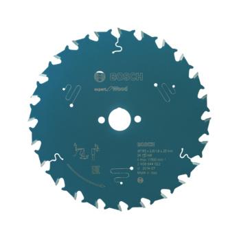 48 Bosch 2608644024 Kreissägeblatt Expert for Wood 165 x 20 x 2,6 mm