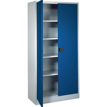 Hinged-door cabinet with solid sheet metal doors height 1950 mm | HAHN+KOLB  sc 1 st  HAHN+KOLB : 1950 doors - pezcame.com