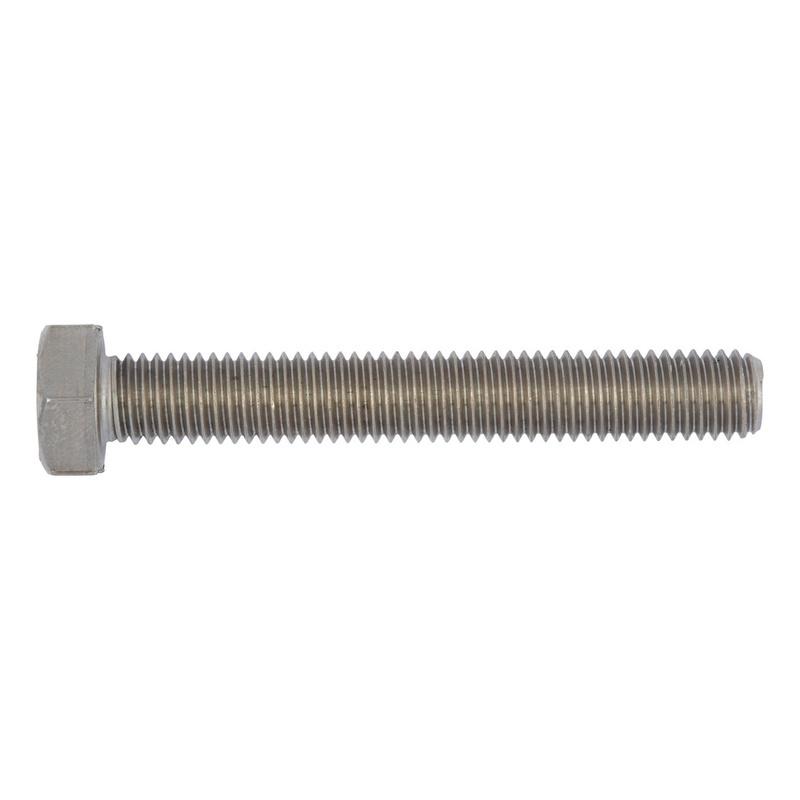 Kuusioruuvi, täyskierre - KUUSIORUUVI ISO 4017/D933 A4-70 M4X16