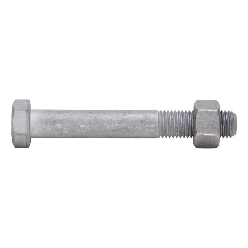 SB-ruuvikokoonpano, osakierre Teräsrakenteiden esijännittämättömiin liitoksiin - SB-SETTI EN 15048 8.8 HOT M16X200 OSAK