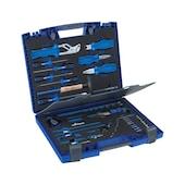 Werkzeugsortiment mit Tasche, Koffer