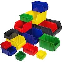 Easy-view storage bin
