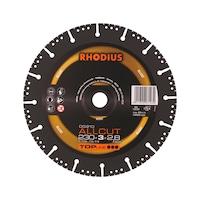 RHODIUS diam. doorslijpschijf ALLCUT DG 210, 230-mm dia. 230 x 3 x 2,5 x 22,2 mm