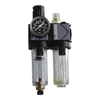 Compressed air dual maintenance unit
