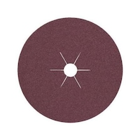 Fibre discs FS 764 ACT for universal processing of steel, stainless steel and metals