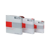 KK114F abrasive cloth in tear-off box