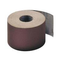 Toile abrasive marron, rouleau de 50 m x 25 mm, grain 240