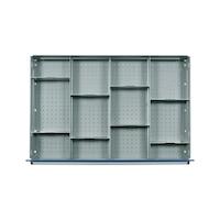 HK Einrichtungsmaterial 700 B Fachteilungen ab 100 mm (12 Fächer)