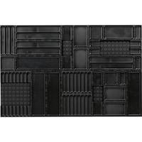 AQURADO Ordnungssystem 31-teilig Matte BxT 888x576mm Boxen 24mm hoch Variante 2