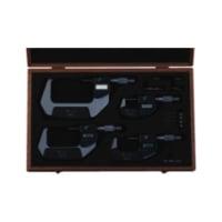 293-963-30 MITUTOYO, Digimatic Bügelmessschrauben Set 0 - 100 mm