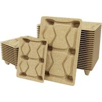Préselt fa raklap, 9 láb, terhelhetőség kb. 900 kg, HxSzé 1200x1000 mm, 10 db