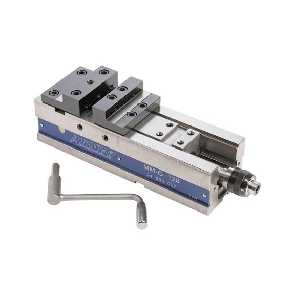 ATORN NC Hochdruck-Maschinen-Schraubstock MMG-125 mm