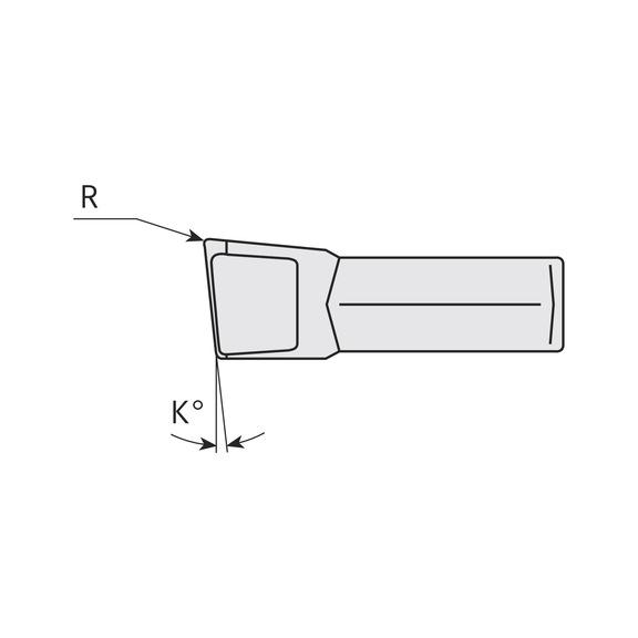 1pack Atorn AIMC 5.0 HC3630mit 5Wendeschneidplatten für Einstiche NEU//OVP.
