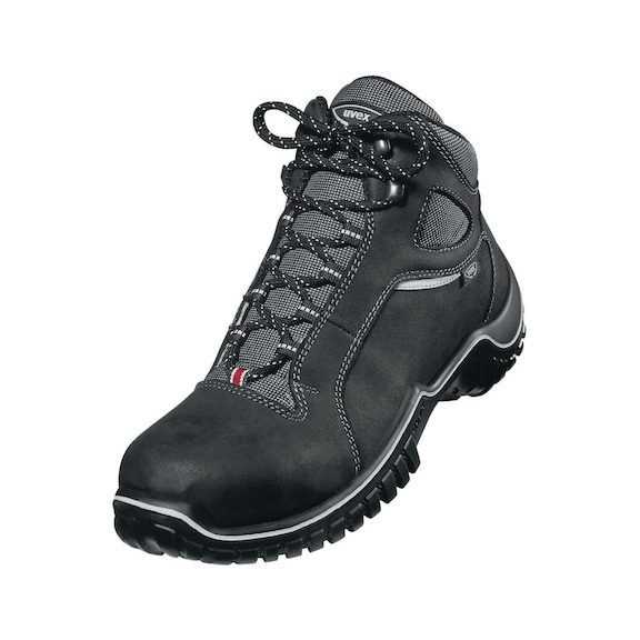 buy crazy price best place UVEX safety boots S2, size 41, Nubuck leather 55998141 | HAHN+KOLB