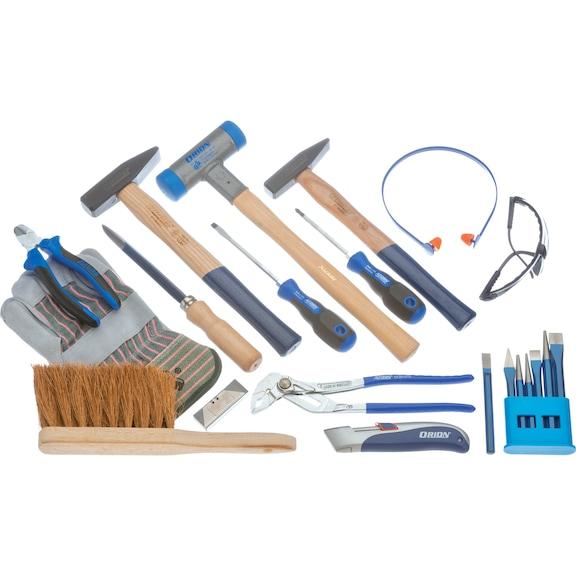 ATORN Werkzeugsatz Handwerkzeug-Grundausstattung, 20-teilig