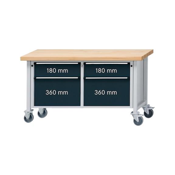 ANKE Werkbank Modell 205 V 1500x700x850 mm Platte ...