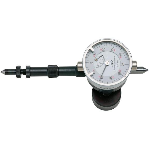 krank mili test ekipmanı 60-300 mm, kadran ile, çantada - Krank mili test ekipmanı