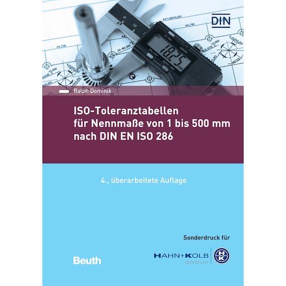 ISO-Toleranztabellenbuch 1-500 mm nach DIN ISO 286