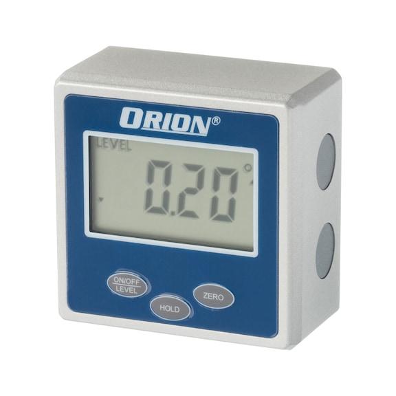 Inclinomètre électronique ORION, L x l x H: 56 x 56 x 31 -