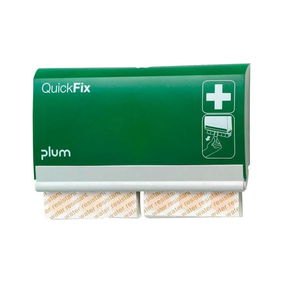 PLUM Quickfix Pflasterspender, mit wasserfesten, einzeln verpackten Pflastern