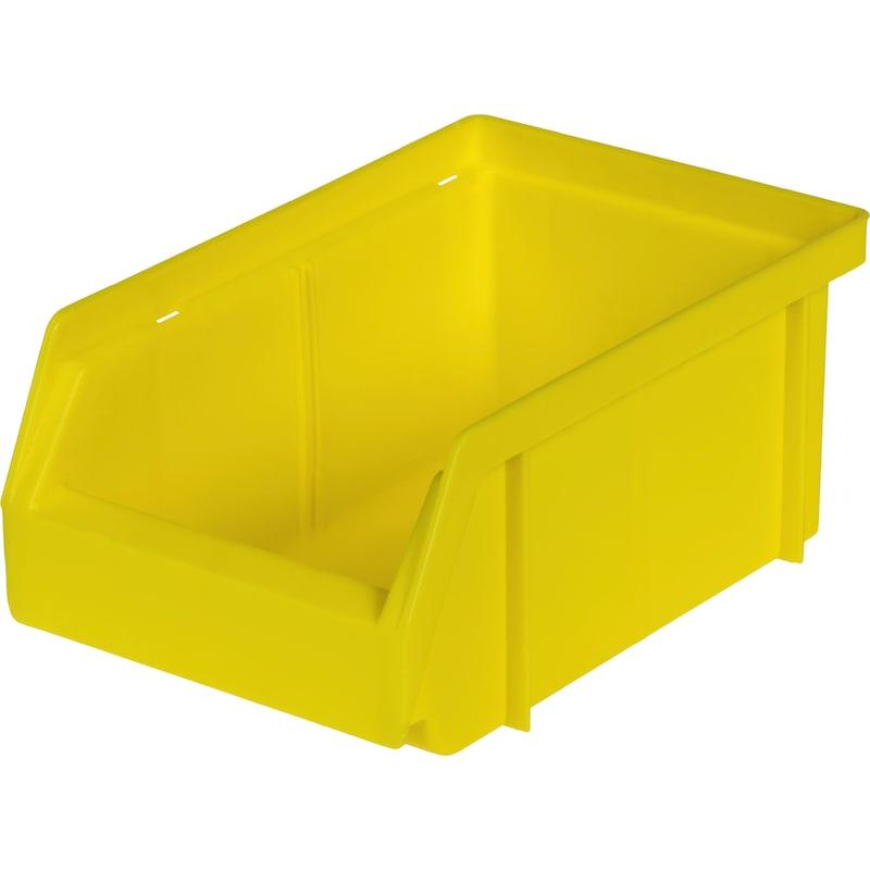 Bac à bec en polypropylène, taille4, 161/140 x 106 x 75 mm, jaune - Bac à bec