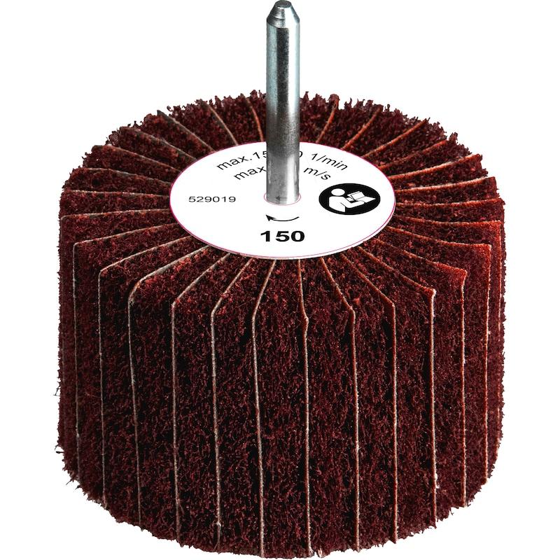 Meule sur tige à lamelles en toile ORION, 60 mm x 50 mm, grain 100 - Meules sur tige à lamelles en toile