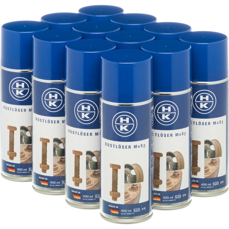 HK Rostlöser MoS² 400 ml, 12er Pack - Rostlöser MoS2  OUTLET