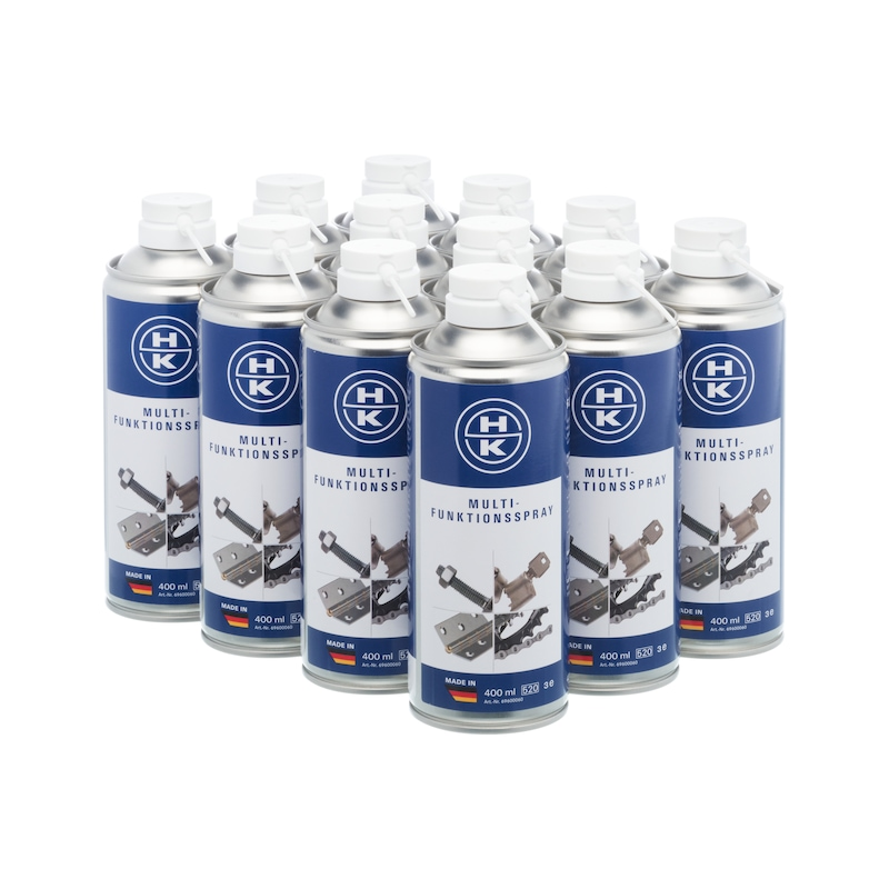 HK Multi-Funktionsspray 400 ml, 12er Pack - Multifunktionsspray
