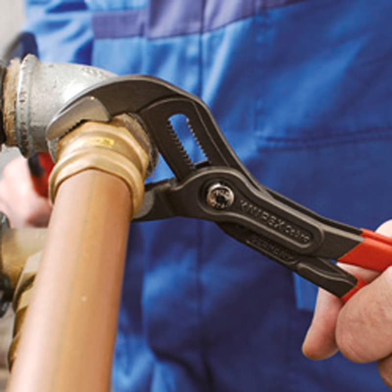 Pince auto-ajustable Cobra KNIPEX 250mm, larg. max. 46mm, t. polie, p. plast. - Pince auto-ajustable Cobra Hightech