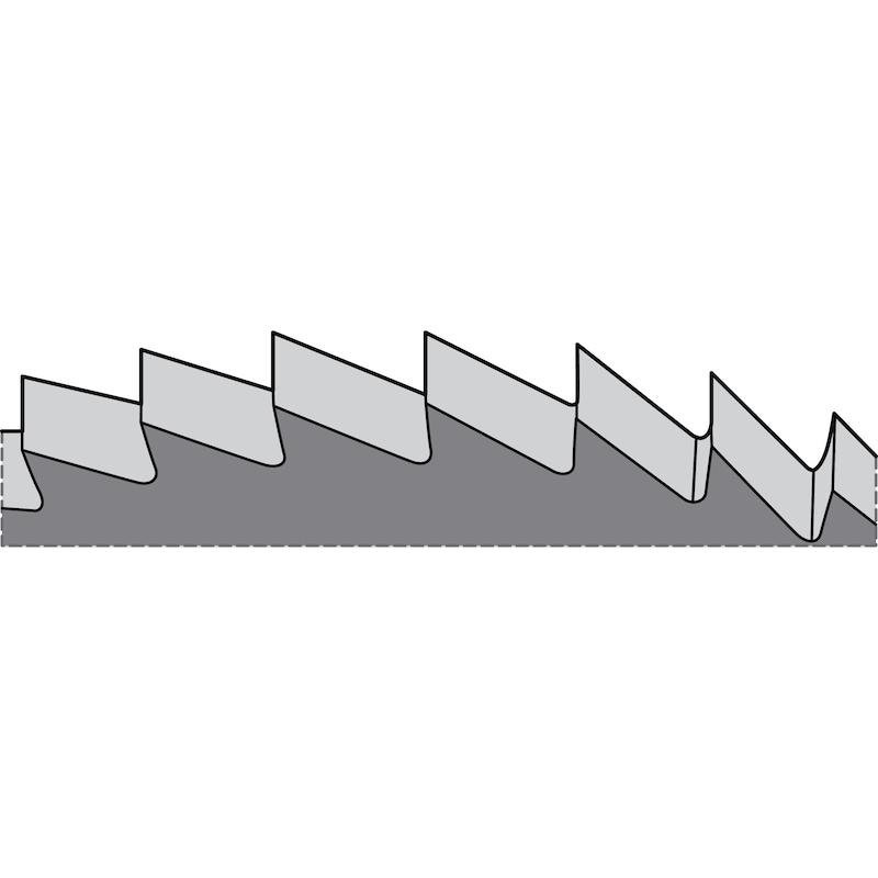 Metallkreissägeblatt VHM feinverzahnt Form A - 2