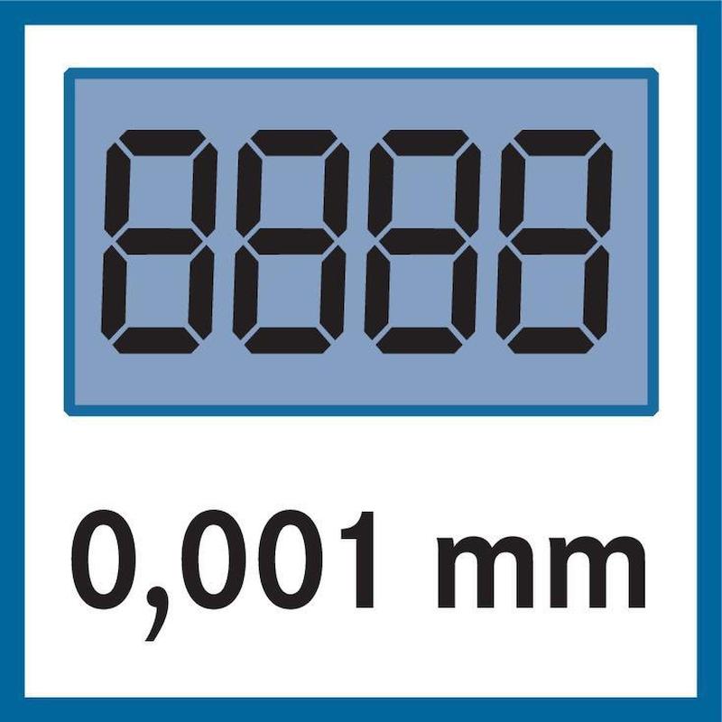 Micromètre numérique MAHR 40 EWRi 0-100 mm, jeu - jeu de micromètres électroniques