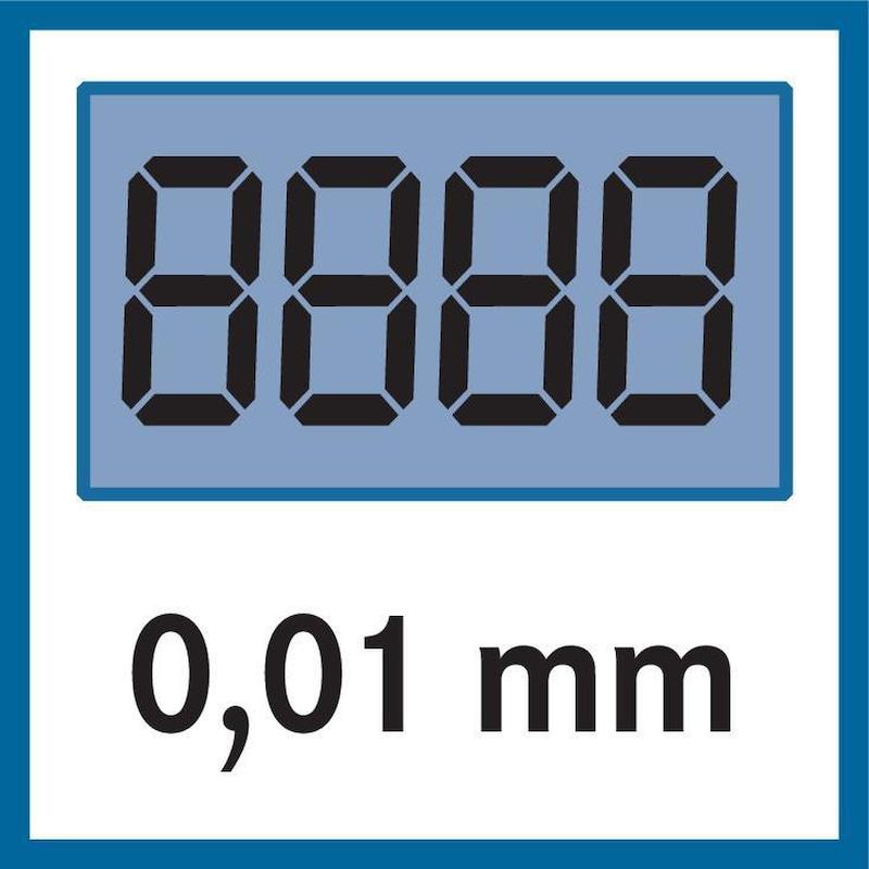552-161-10 MITUTOYO, Digital ABS Karbon-Messschieber lange Schnäbel 0-24 Zoll IP66 - DIGIMATIC Taschenmessschieber