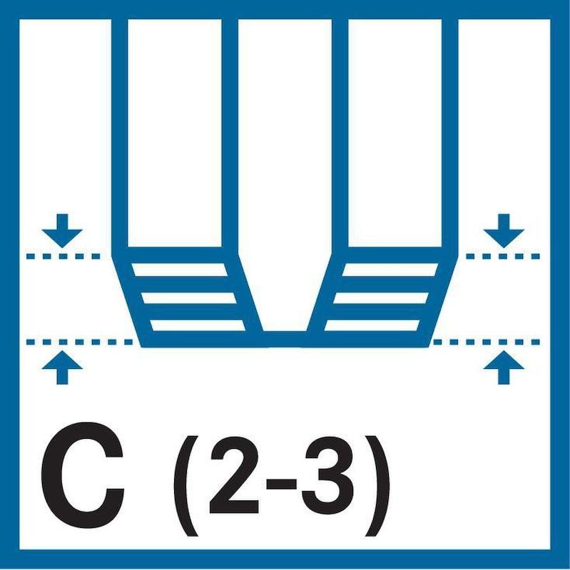 ATORN menetfúró HSSE C 371 40° M5 11 ISO2 S≤2,5xD CNC kiv. UNI - Gépi menetfúró, HSSE