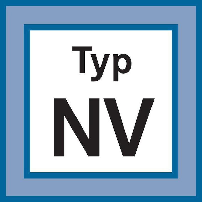 Broca helicoidal NV HSSE, DIN 1897, 3,5 mm x 52 mm x 20 mm, 130° - Broca helicoidal NV HSSE, sin revestimiento