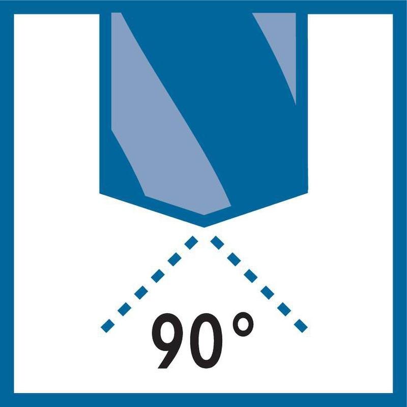 Foret à centrer ORION HSSE-TiN 90°, 20,0 mm x131 mm HA - Foret à centrer HSSE-TiN 90°