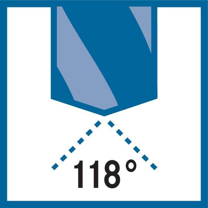 ATORN foret métal U4 HSSE, DIN 338, 2,9 mm x 61 mm x 33 mm, 118° - Foret métal type U4 HSSE