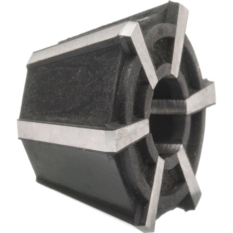Portapinzas Rubber Flex J 421, rango de fijación 3,5 - 6,5 mm - Pinzas Rubber-Flex
