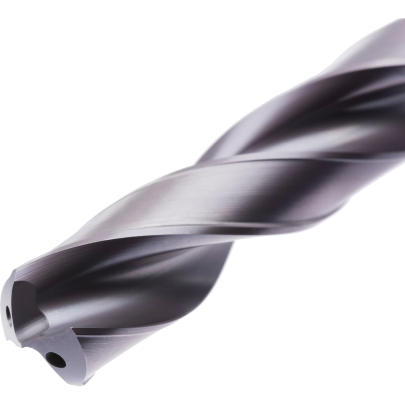 9mm Solid Carbide 5xD High Performance Drill-TiAlN