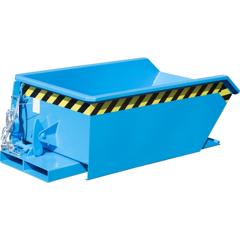 MGU 610 mini devirmeli konteyner, renk: muhabbet çiçeği yeşili RAL 6011 - Mini devirmeli konteyner, tip MGU