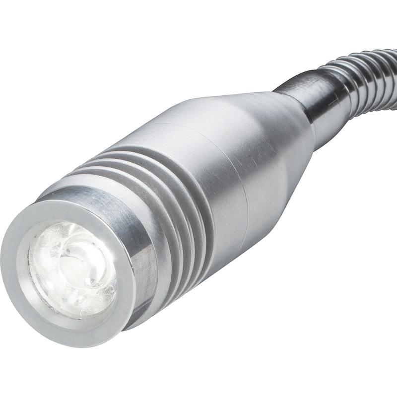 """LED Arbeitsleuchte """"Punktstrahler"""" 2 W dimmbar Magnetfuß und Flexwelle IP 65 - LED Arbeitsleuchte """"Punktstrahler"""""""