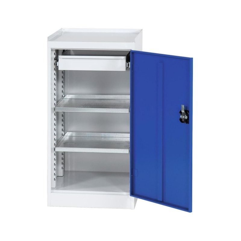 Tool cabinet Gentian blue + hexagon Allen key, bitbox, assembly protection glove - Fast delivery program  OFFER