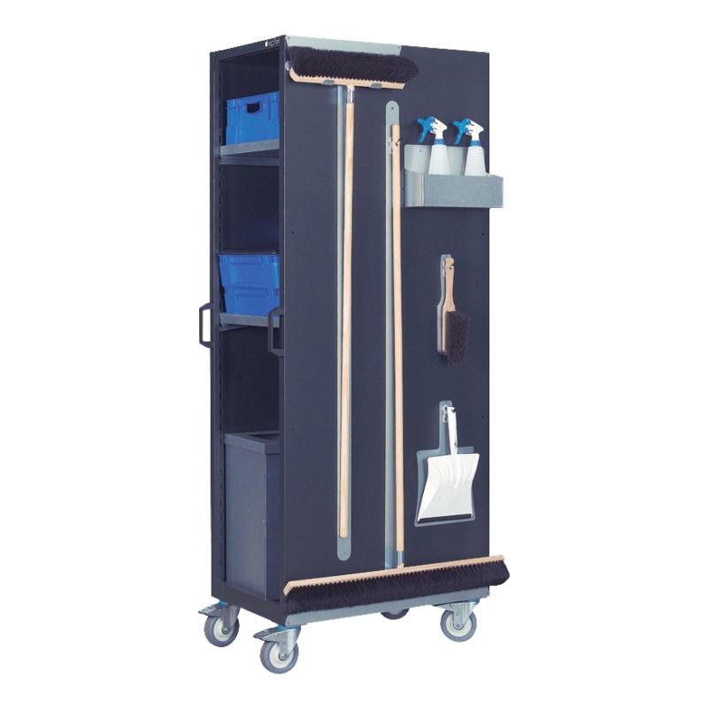 APFEL Reinigungsstation HxBxT 1952x512x772 mm Tragkraft 400 kg - Reinigungsstation, fahrbar |AKTION