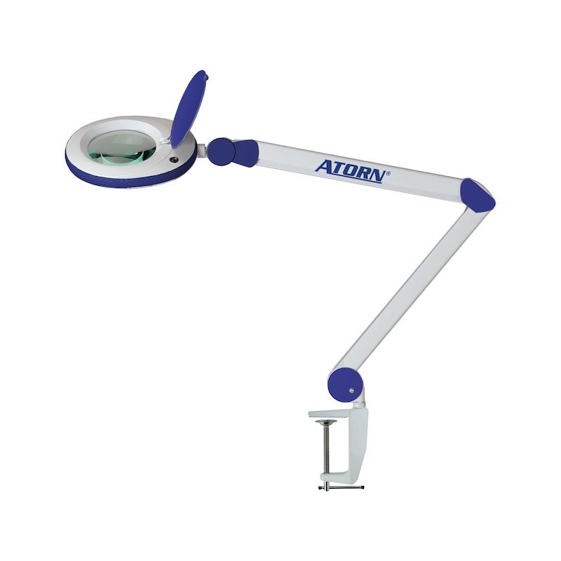 ATORN LED-es nagyítós lámpa, 3 dioptria, 2-fokozatú szegmens váltás, 1,75x - LED nagyítólámpa