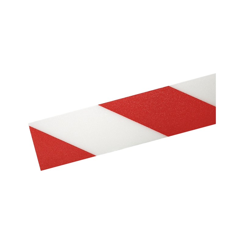 Ruban de marquage au sol DURALINE Strong 30mx50mmx0,7mm, couleur rouge/blanc - Ruban de marquage au sol Duraline Strong