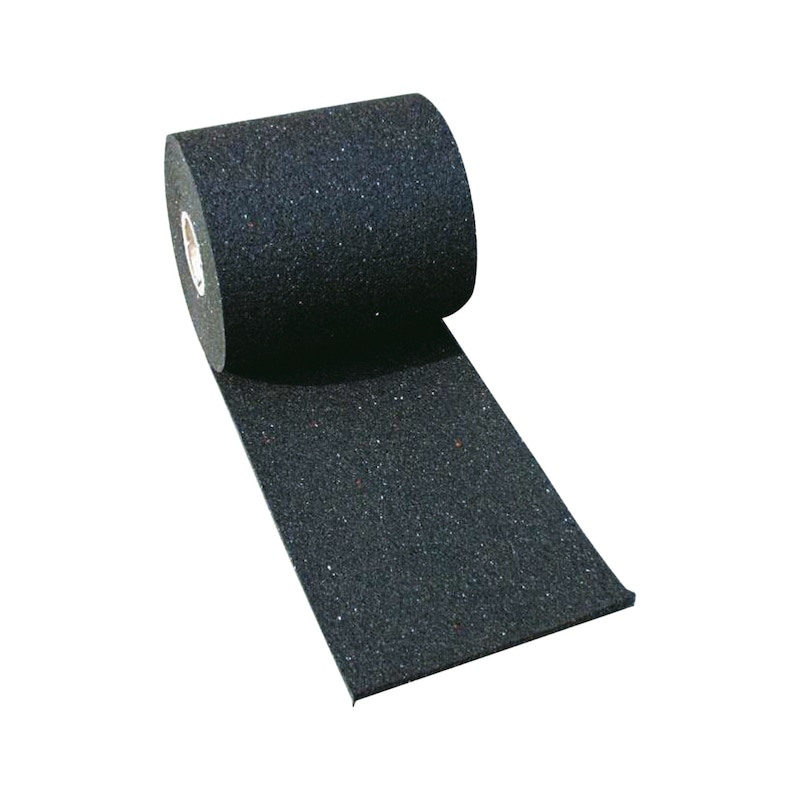 Non-slip mat, rolled 5000x250x8 mm for lashing straps -