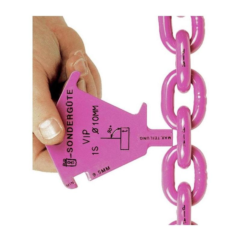 RUD VIP 吊链,长 1 米,2 排,链条标称直径 8 毫米,可调节 - VIP 吊链,质量级 10,双排