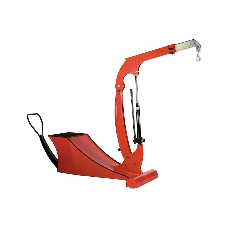 Counterbalancing crane - 1