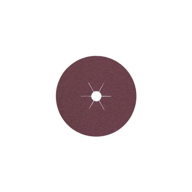 KLINGSPOR fiber diskler, CS 564, kum 24, 180x22 mm - Çelik, paslanmaz çelik ve metallerin çok amaçlı işlemesi için FS 764 ACT fiber diskler